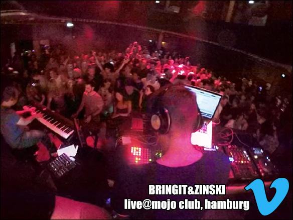 BRINGIT&ZINSKI live@mojo club, hamburg